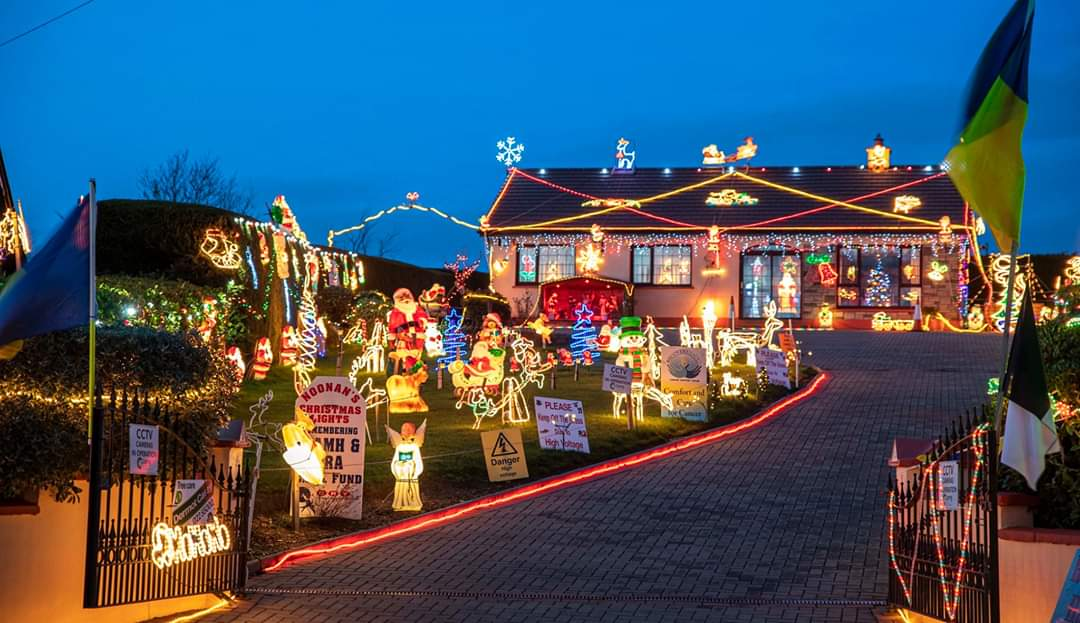 Tony Noonan, 1st Place in Ireland's Most Christmassy Home